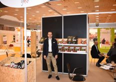 Levent Sadik Ahmet is the CEO of Yaka. They are a cherry packaging company that are attending Freskon for the first time.