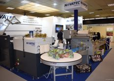 The Novatec machinery could be used to wrap all kinds of vegetables and fruits.