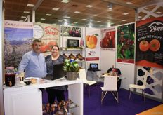 A.S.P.O Rachis attended Freskon to showcase their cherries and tomatoes.