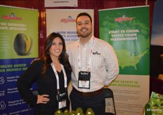 Jacqueline Bautista and Santiago Pena with Mission Produce.