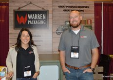 Christina and Mike Dittenber with Warren Packaging out of Ontario, California.