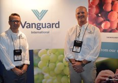 Shawn Caldwell and Gene Coughlin with Vanguard Direct.