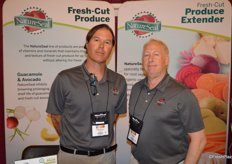 Chris Brown and Tim Grady with NatureSeal.