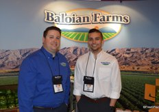 Jay Angulo and Matt Hiett with Baloian Farms.