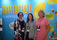 Meg Buchsbaum, Angela Serna and Tammy Wiard with the National Mango Board. Meg recently joined the organization as Retail Account Manager.