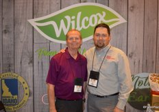 Dave Sherman and Derek Peterson with Wilcox Fresh.