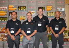 The team of Melissa's: Fernando Sanchez, Dale Roberts, Lee Crenshaw and Raul Gallegos.
