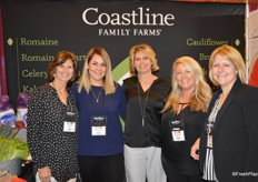 Girl Power in the booth of Coastline Family Farms.