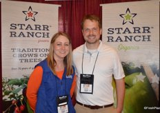 Jessica McFadden and Brent Shammo with Starr Ranch.
