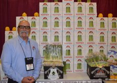 Dino Iacovino with Altar Produce.