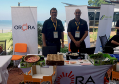 Peter Fomiatti and Reece Galletly from Orora Fresh