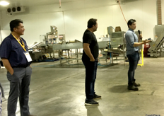 Management at Australian Dried Produce explain the features of their factory.