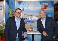 Chris Tisch and Rene van Gees from Van Geest International.