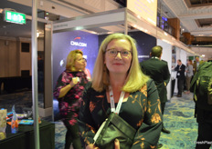 Sarah Calcutt from PIP was visiting the tradeshow.