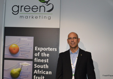 Rynd Bougas from Green Marketing South Africa.