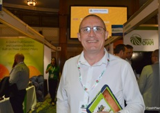 Darren Bevan from JDM Food Group was visiting the show.