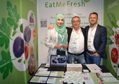 Zeynep Tiki, Sahap and Kemal Kandemir from Eat me Fresh, Amsterdam.