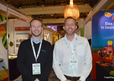 James Moore and John Heard from Marco were visiting the tradeshow.