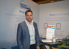 Adam Twiner from SensiTech.