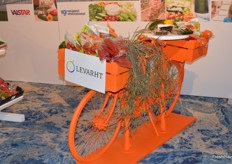 A very Dutch 'fiets' on the Holland stand.