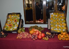 A lovely display of exotic fruit from Wealoor.