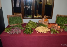 Another nice display of vegetables from Wealmoor.