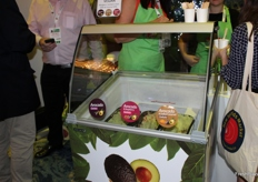 "The company offered Avocado Gelato (""ice cream"") in three variants."