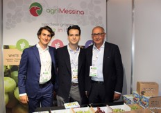Francesco Messina, Carlo Berardi and Alfio Messina from AgriMessina, leading Italian exporter of seedless table grapes into UK market.