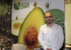 Rafael Martn, commercial manager for Agrcola Chapi, a family business focused on growing and marketing fresh, quality avocados, table grapes and asparagus.