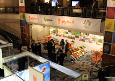 The Alcove of Holland Fresh Group. Dutch importers and exporters presented their fresh fruits and vegetables.
