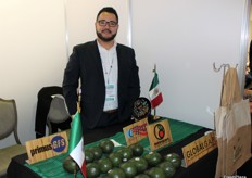 Ramiro Martinez from the Mexican Aguacates Chahena, a newly-created, world-class company dedicated to the production and distribution of Hass avocados.