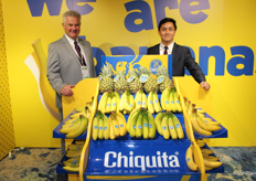 John Cockle (Chiquita Europe) and Christopher Lazaro (Chiquita Brands International).