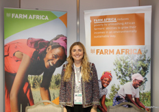 Charlotte Senior, corporate partnerships manager for Farm Africa, an innovative charity that reduces poverty in rural eastern Africa by helping framers to grow more, sell more and sell for more.