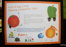 The Drawing Competition 2019 is sponsored by The Embassy of The Netherlands in the UK on behalf of the Dutch fresh fruit and vegetable sector.