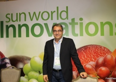 Maurizio Ventura, licensing manager Europe for Sun World International. The Sun World Innovations (platinum sponsor of The London Produce Show and Conference) is a division with the mission to create better fruit varieties, through traditional plant breeding, and to commercialize and license those varieties to its global base of licensed producers and marketers, in 16 countries around the world.