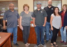 Giumarra team members (from left to right) Miguel Beltran, Kellee Harris, Alex Marriott, Matt Ruegge, Araceli Velazquez and Jeannine Martin.