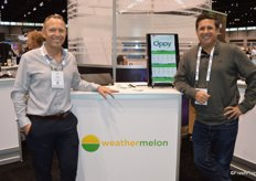 David Robidoux and Chad Barton with Weathermelon write a bi-weekly article about upcoming weather events in the US.
