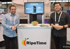 John Shannon and Josh Dunford with RipeTime traveled all the way from Sydney and won an Innovation Award in the category Best New Field Technology.