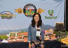 Jenna Duffy with Grimmway Farms.