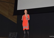 Samantha Gash - endurance athlete gave a very inspirational talk on pushing boundaries beyond your comfort zone.