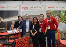 The team from Coles.