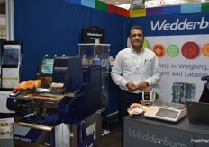 Abhijeet Deshmut from Wedderburn which supplies weighing, labelling and packing solutions.