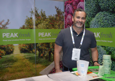 Scott Morton from Peak Fresh has new compostable bags.