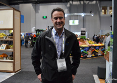 Cameron Carter from Seeka Australia was visiting the show.