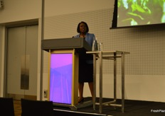 Lauren Scott - PMA spoke about global trends in fresh produce consumption.
