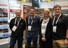 Steven Reeves - ProPak, Karl Gygar and Michelle Moore - Manbulloo and Gary Sandercock ProPak.