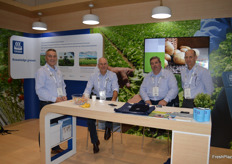 The team at YARA - Michael Waites, Robert Moorfield, Jason Brady and Paul Eitzen.