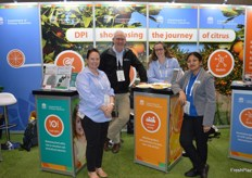 Katy Fardell, Shane Hetherington, Jessica Fearnley and Soumi Paul Mukhopadhyay from New South Wales Department of Primary Industries.