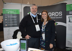Adam Cuming from Radford Solutions and Rebecca Schurr from Pinata Farms.