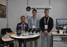 Dennis Clock - Reemoon, Luke Weisenberger and Hayden Stewart from KW Automation who have just gone into partnership.